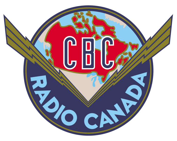 Canadian Broadcasting Corporation Radio Canada logo - 1940-1958