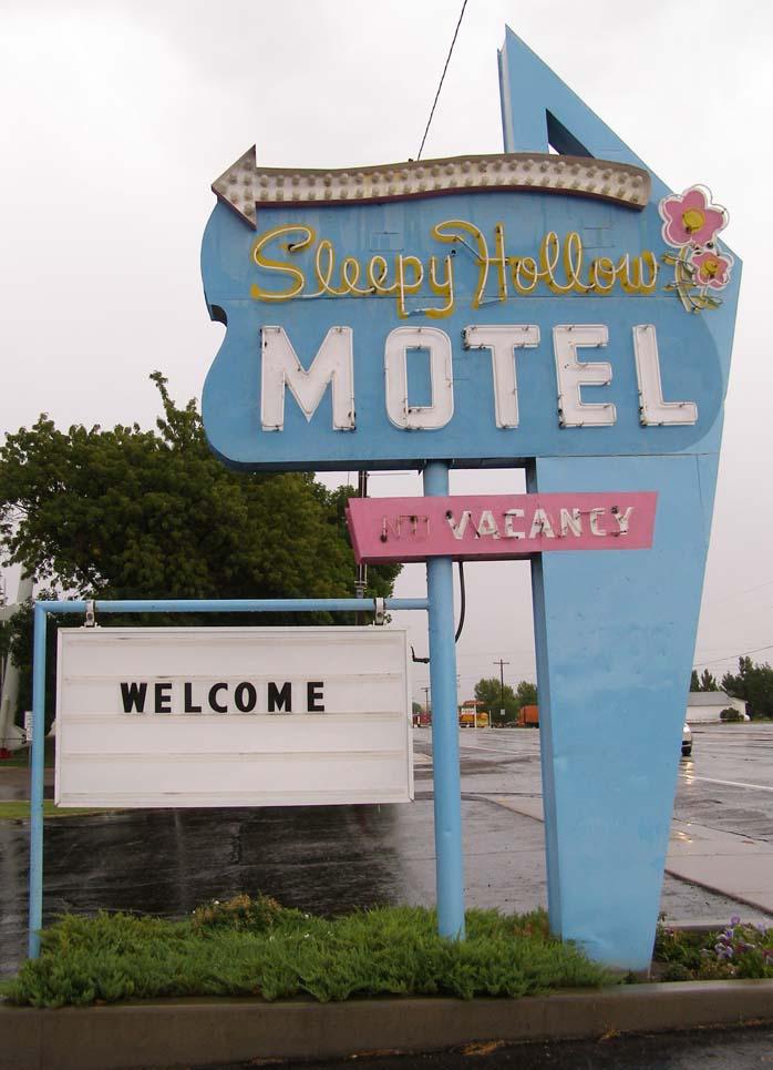 Sleepy Hollow Motel - 94 East Main Street, Green River, Utah U.S.A. - September 9, 2008