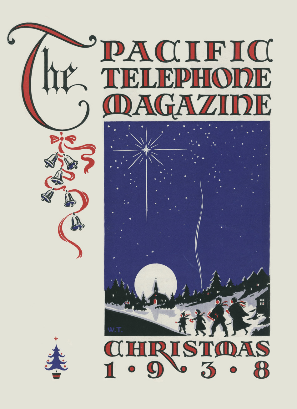 The Pacific Telephone Magazine - December 1938