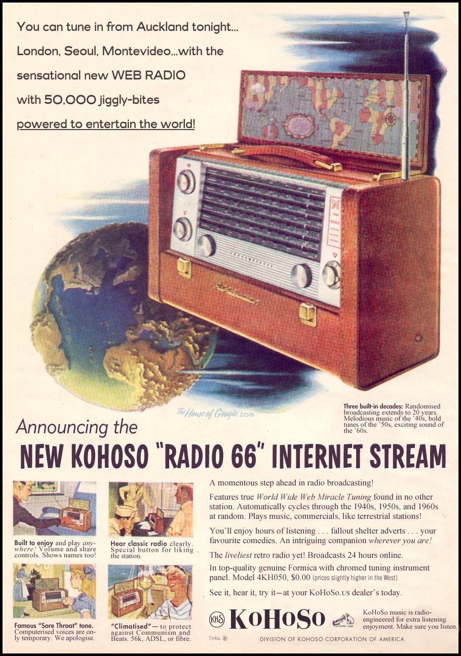 Fan art for KoHoSo Radio 66 - September 19, 2015