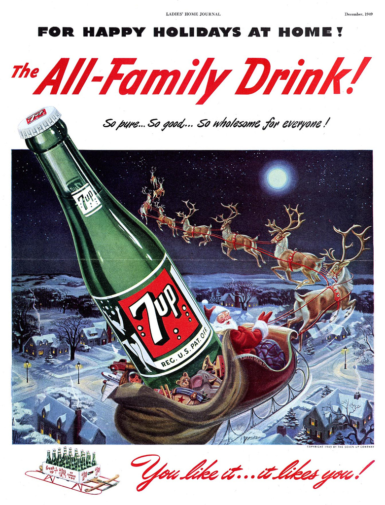 The Seven Up Company - published in Ladies' Home Journal - December 1949