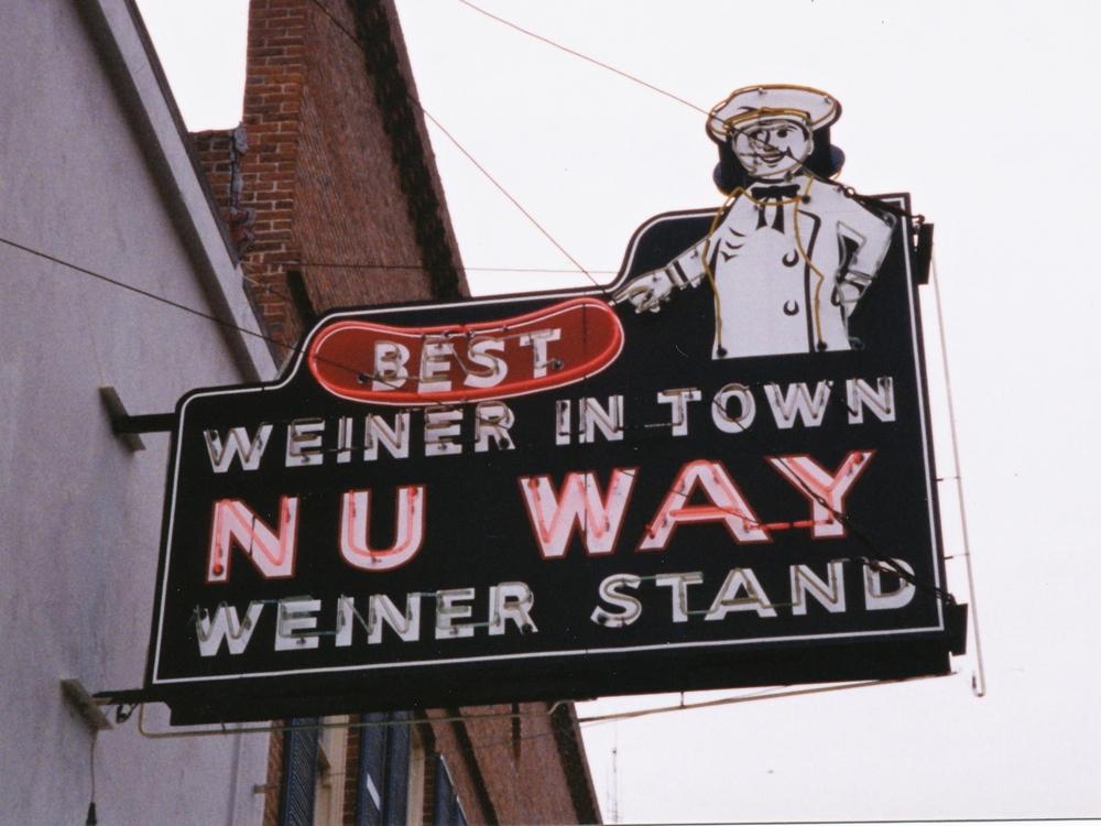 Nu-Way Weiner Stand - 430 Cotton Avenue, Macon, Georgia U.S.A. - December 2000
